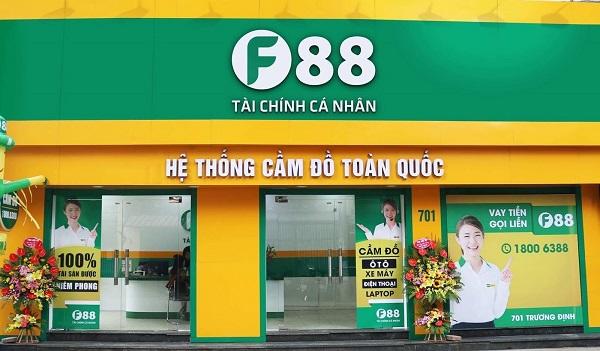 F88 tiên phong tại thị trường Việt Nam với mô hình hệ thống cầm đồ toàn quốc