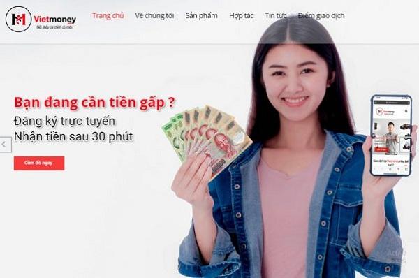 Hướng dẫn cách cầm đồ Online tại VietMoney
