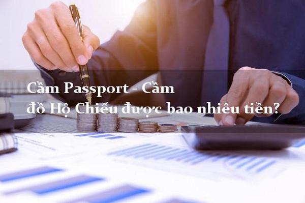 Cầm hộ chiếu bao nhiêu tiền?