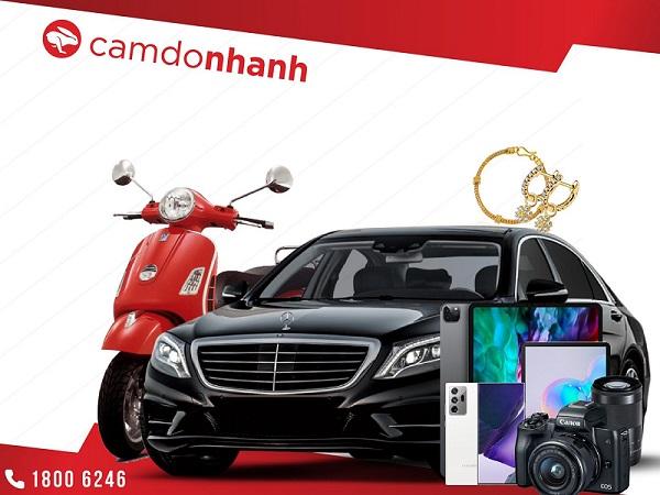 Cầm xe trả góp ngân hàng tại Camdonhanh
